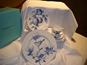 Tiffany & Co. China NATURE 'MAGNOLIA' 4pc PLACESETTING - Stunning! Discontinued Pattern