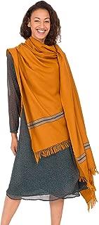 Mansi Merino 手织披肩和超大围巾