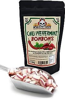 Chili Pfefferminz Bonbon - leicht scharf - 200g - Hotskala: 1 - RED DEVILS TASTE