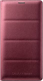 Samsung BT-EFWN910BR - Funda tipo flip para Samsung Galaxy Note 4 N910F, color púrpura- Versión Extranjera