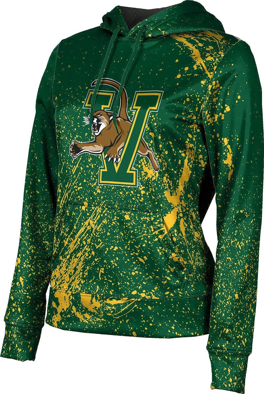 ProSphere University of Vermont Girls' Pullover Hoodie, School Spirit Sweatshirt (Splatter)