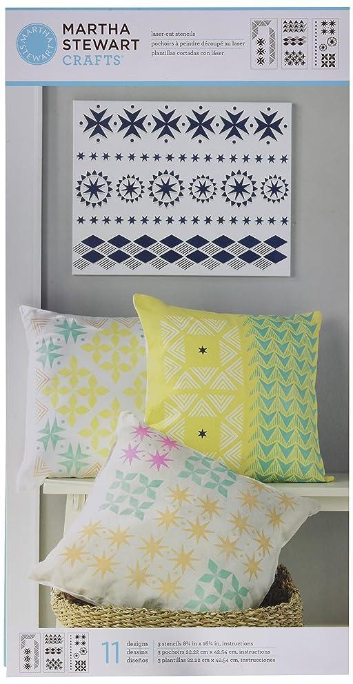 Martha Stewart Crafts Scrapbooking Stencils, 33553 Tribal