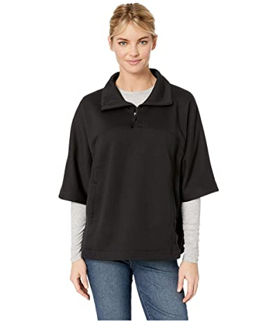 The North Face Slacker Short Sleeve Poncho (TNF Black) Women
