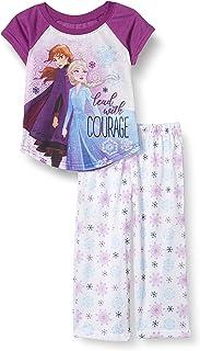 Disney Girls' Little Frozen 2-Piece Pajama Set