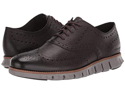 Cole Haan Zerogrand Wing Ox (CH Black Walnut Pebbled Leather/Rock Ridge) Men