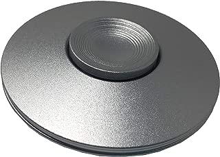 COOLCT Mini Size UFO Flying Saucer Fidget Figit Hand Spinner Best Stress Reducer Relieves Sliver Color C011