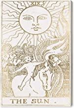 The Oliver Gal Artist Co. Space Wall Art Canvas Prints 'The Sun Tarot Luxe' Home Décor, 10