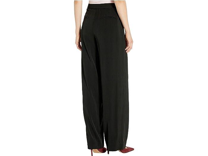 Jones New York Wide Leg Pinstripe Pants - Women Clothing