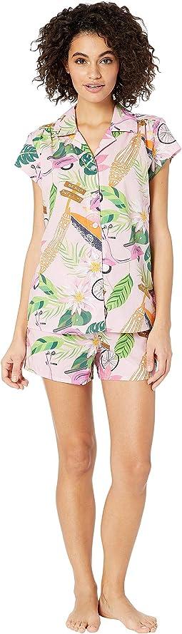 Vespa Shorts Pajama Set