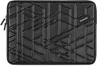 [Best Comfortable Laptop Sleeve Ever] TOMANTEK 15-15.6 Inch PU Polyester Slow-recovery Sponge Shockproof & Water-resistant Laptop Sleeve Case Bag/Ultrabook Laptop Tablet Bag Case/Skin Cover, Black