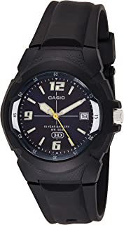 Men's MW600F-2AV Sport Watch with Black Resin Band
