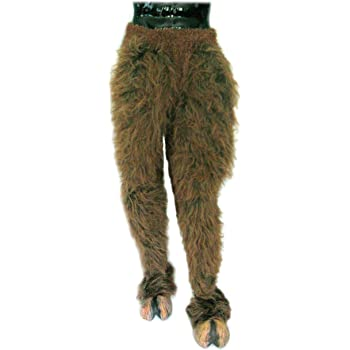Brown Beast Legs For Adults One Size