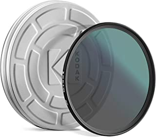 KODAK IR Neutral Density Filter ND16 Filter Stops Overexposure Reduces Depth of Field Captures Motion Reduces Infrared for Color Accuracy, Slim, Nano Multi-Coated 16-Layer Glass w/Mini Guide | 49mm