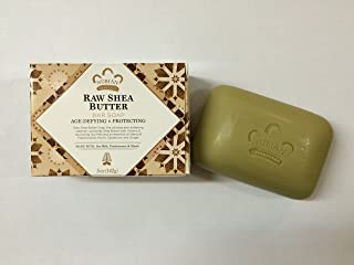 Nubian Heritage Raw Shea Butter Bar Soap 5 oz - Pack of 12