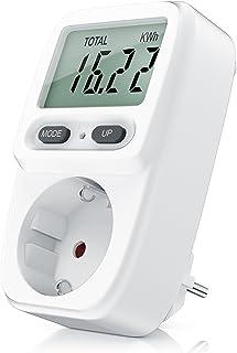 CSL - Medidor de Costes de Energía - Medidor de Consumo de Energía - Doble Tarifa - 3680W
