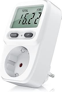 CSL - Medidor de Costo de Energía Medidor de Costo de Energía Medidor de Consumo de Energía - Medidor de Consumo Standby de 0.2W - Monitoreo de Costo Efectivo Doble Tarifa - 3680W