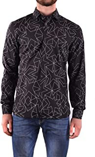 Luxury Fashion Mens MCBI31641 Black Shirt   Season Outlet