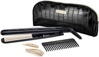 Remington S0100AU Style Function Straightener Gift Set Includes 2 PearlGold Clips, 1 Count