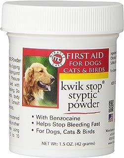 Kwik Stop Styptic Powder with Benzocaine 42 GM