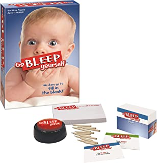 PlayMonster Go Bleep Yourself - The Party Game That Dares You to Fill in The Blank