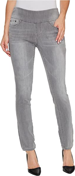 Jag Jeans Petite - Petite Nora Pull-On Skinny Knit Denim in Antique Tin