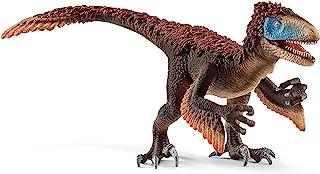 SCHLEICH 14582 Dinosaurio Utahraptor, Rojo,