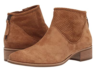 Paul Green Addison Boot (Cognac Suede) Women