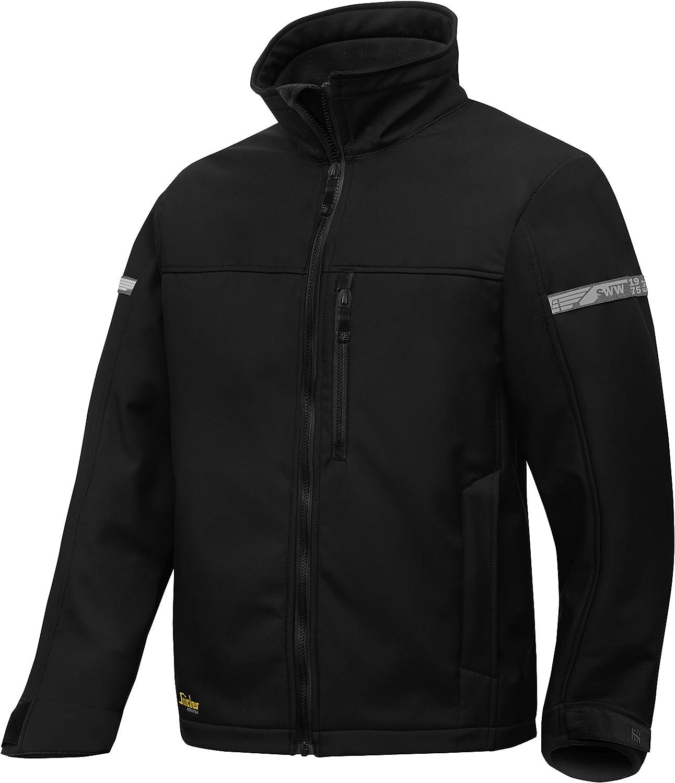Snickers Workwear 1200 AllroundWork, Softshell Jacket (S, Black)