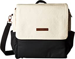Glazed Color Block Boxy Backpack