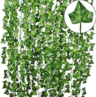 Go Hooked Artificial Garland Maple Plant Leaf Creeper for Home Decoration, Wall Hanging, Special Occasion Decoration, Part...