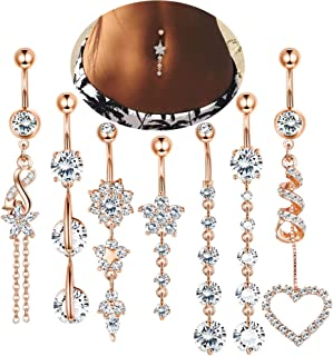 Best 7 16 belly button rings Reviews