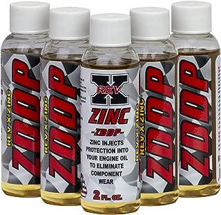 REV-X ZDDP Oil Additive - Zinc for Flat Tappet Cams & Engine Break in (5)
