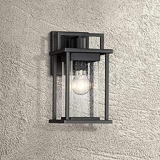 Wickham Modern Outdoor Wall Light Fixture Painted Dark Gray 13