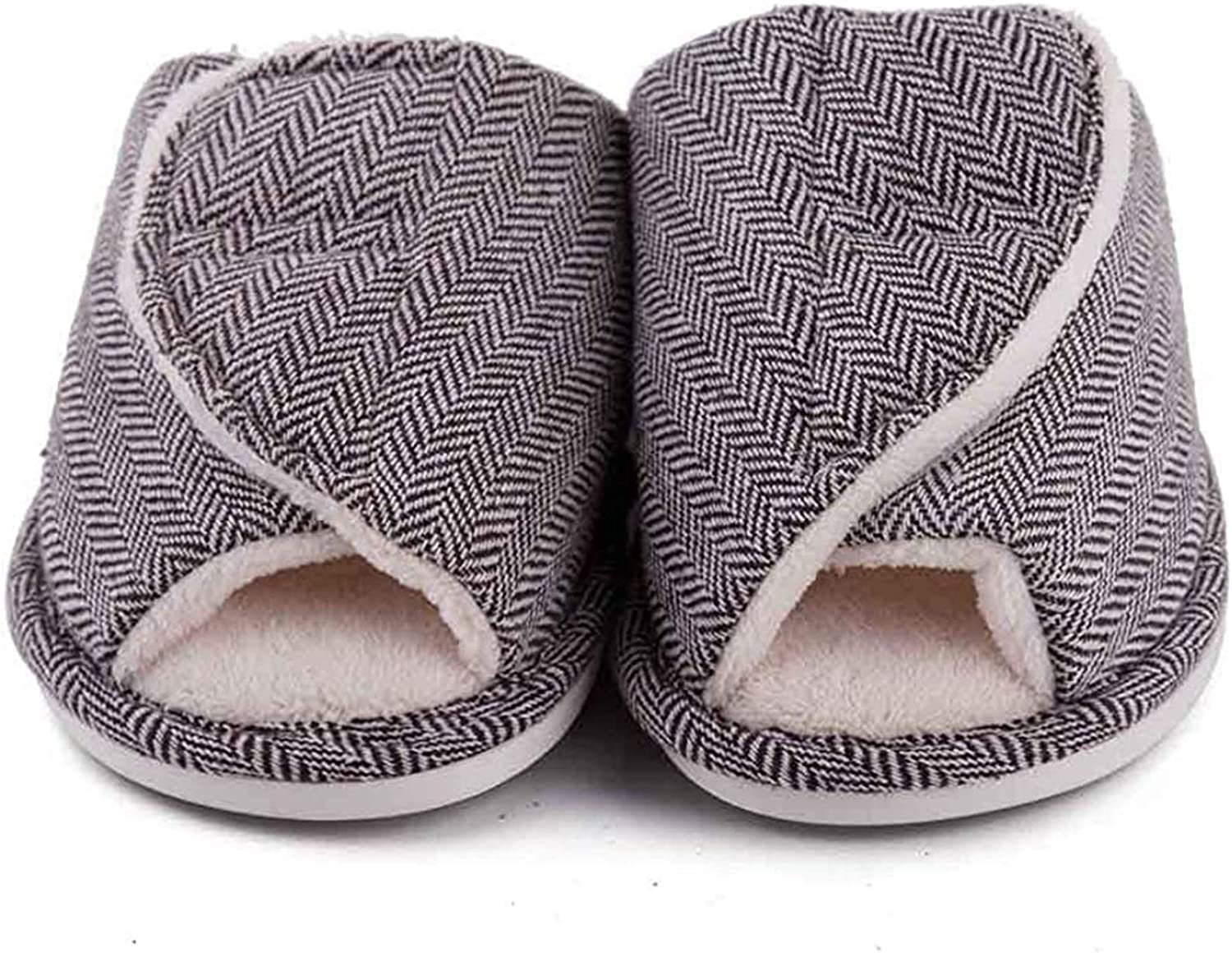ZHXMYD Velcro Slippers for Women C Max 69% OFF Adjustable Opening Indianapolis Mall Size with