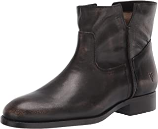Frye Women's Melissa Slouch Bootie Ankle Boot, Dark Brown, 8