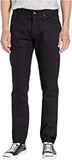 Unbranded* The Brand Men's Tapered in 11 oz Solid Black Stretch Selvedge