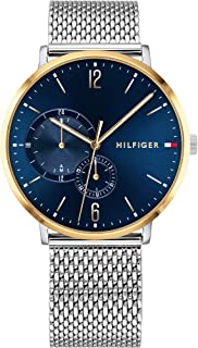 Tommy Hilfiger 1791505 Stainless Steel Round Analog Water Resistant Watch for Men - Silver