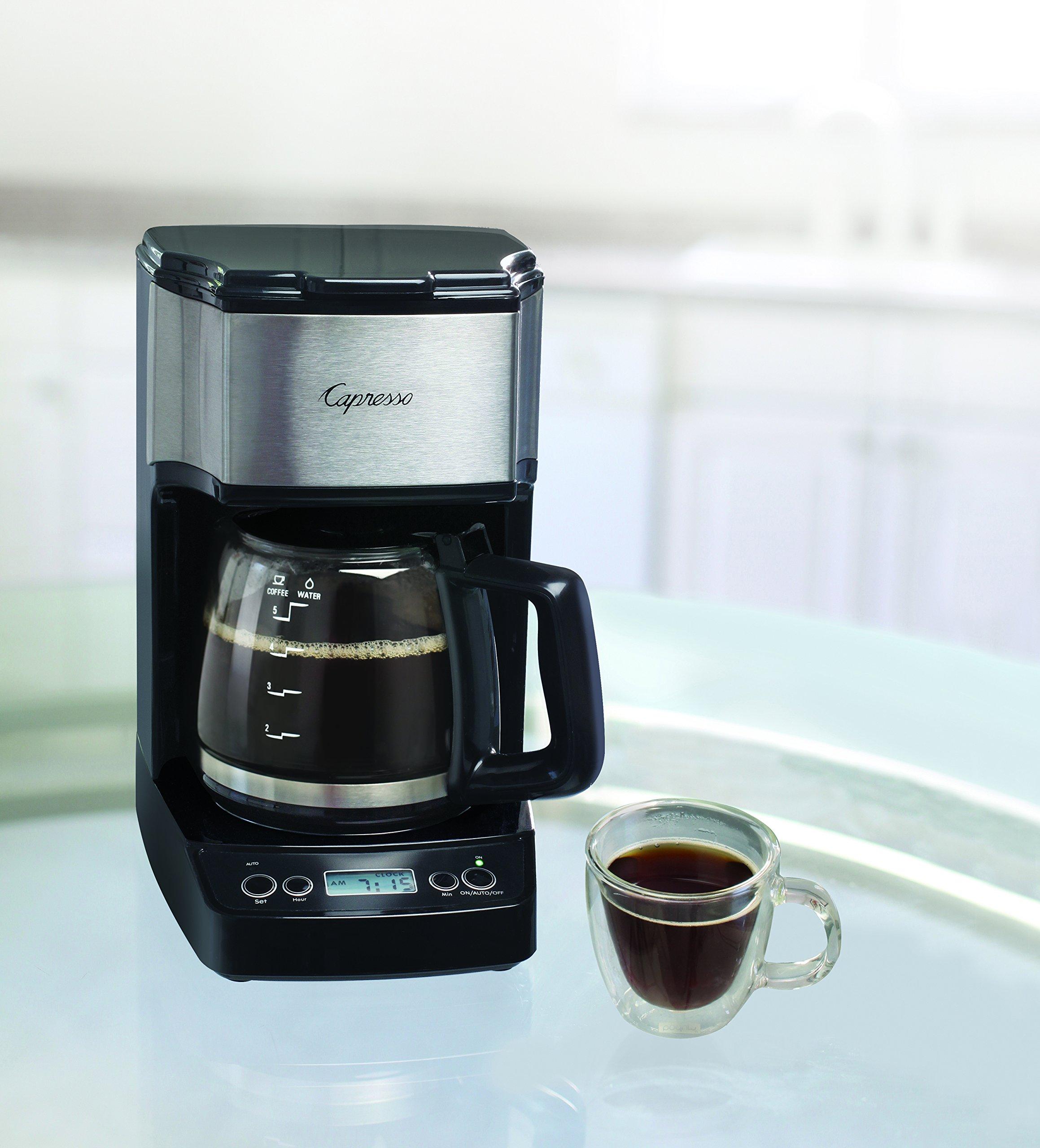 Capresso 426 05 5 Cup Coffeemaker Silver