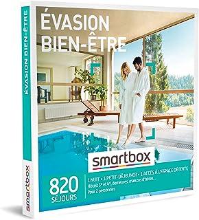 SMARTBOX - Coffret Cadeau Couple - Idée cadeau original pour deux à choisir parmi 820 séjours bien-être et spa