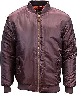 Soulstar MJ MA1 Mens Designer Branded Military Style Bomber Pilot Jacket