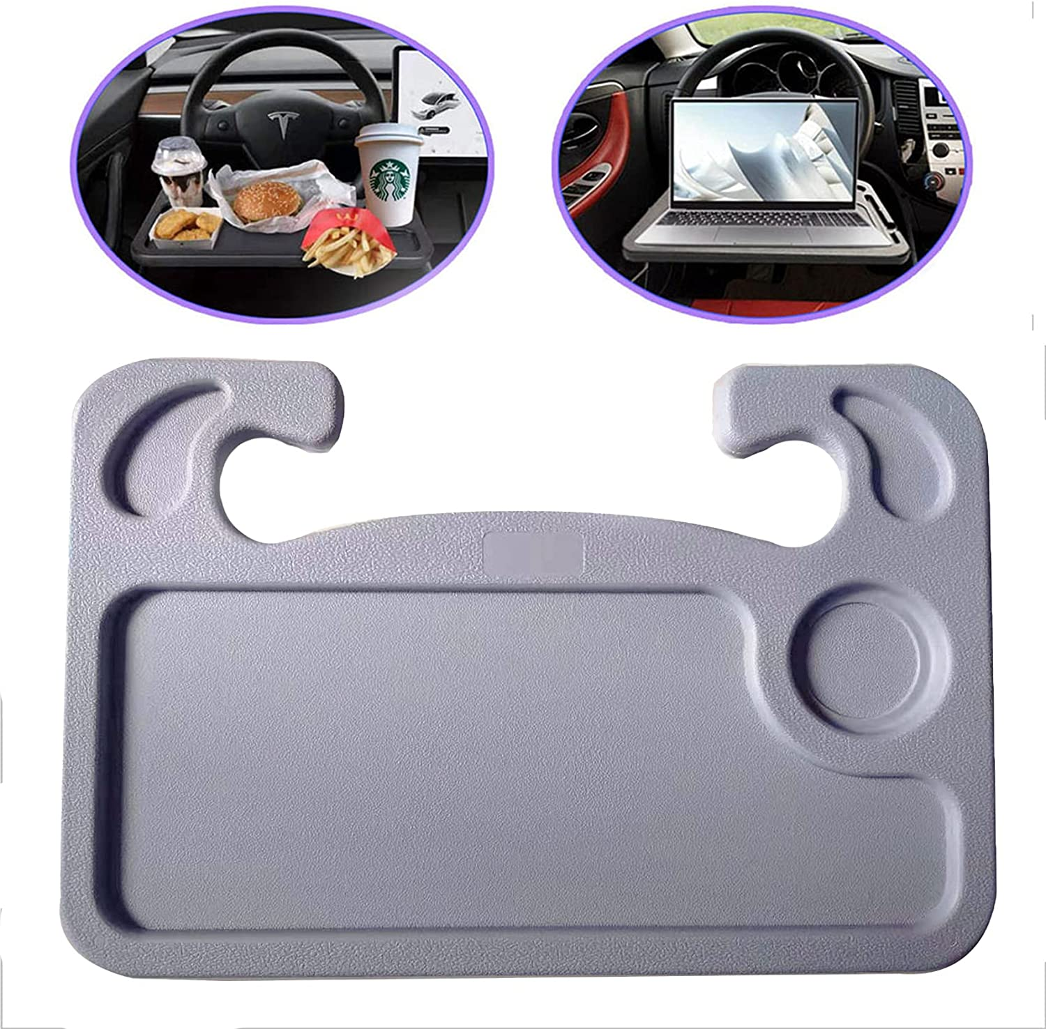 BLUERICE Car Steering Wheel Tray Desk for Max 58% OFF Table E Popular product