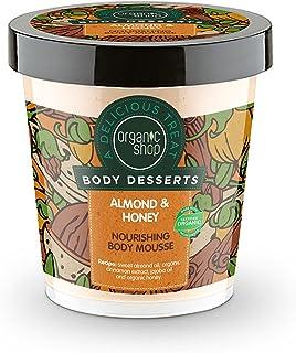 Organic Shop Mousse Corporal Nutritiva Almendra y Miel - 450 ml