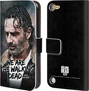 Official AMC The Walking Dead Quote Rick Grimes Legacy Leather Book Wallet Case Cover Compatible for iPod Touch 5G 5th Gen