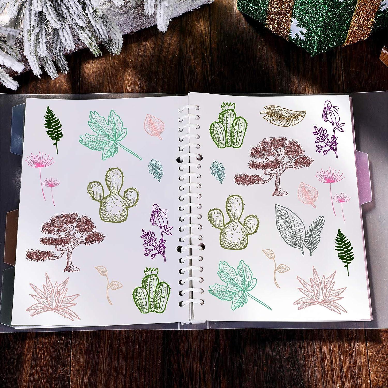 GLOBLELAND Rose Fleur Tampons Clairs Cartes de Timbre en Silicone pour la Fabrication de Cartes D/écoration et Bricolage