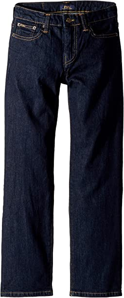 Polo Ralph Lauren Kids Hampton Straight Stretch Jeans (Big Kids)