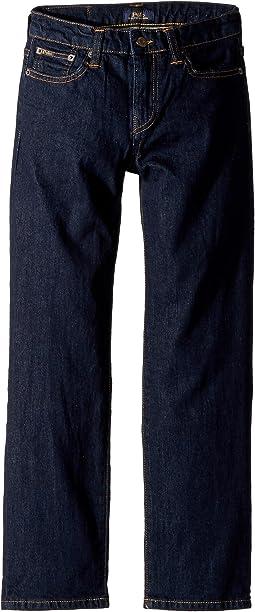 Polo Ralph Lauren Kids - Hampton Straight Stretch Jeans (Big Kids)