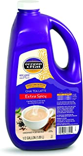 Oregon Chai Extra Spicy Original Chai Tea Latte Concentrate 64 Ounce Jug, Liquid Chai Tea Concentrate, Spiced Black Tea For Home Use, Café, Food Service