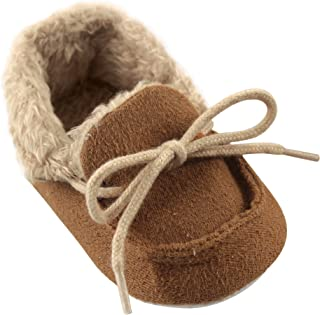 Luvable Friends Unisex Baby Moccasin Shoes
