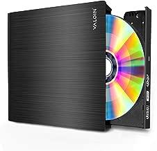 Valoin External DVD CD Drive USB 3.0 Burner Writer Drive Player High Speed Data Transfer for Laptop/Desktop/MacBook/Mac OS/Windows10/8/7/XP/Vista