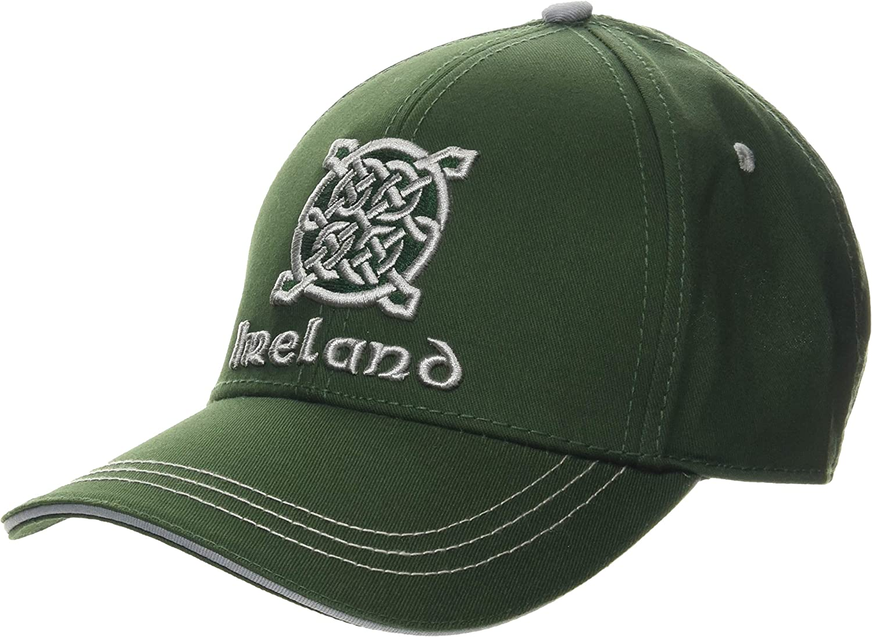 Traditional Craft Green Ireland Celtic Knot Baseball Cap